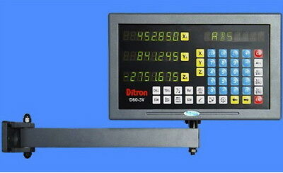 DRO Display 3-axis USA -2yr warranty programmable