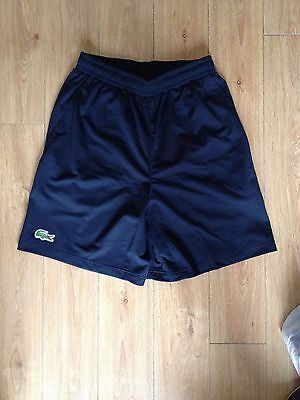 LACOSTE 2017 Official Australian Open Men's Shorts Small Tennis Running Gym