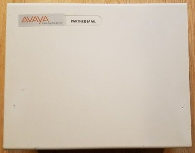 Avaya/AT&T/Lucent Partner Mail PM04 Release 3 4-Port Voicemail System 407549666R