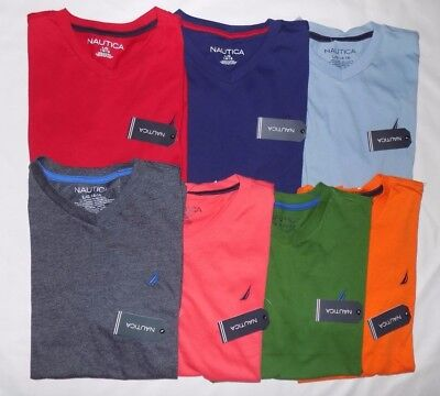 Nwt Nautica Youth Boys' Short Sleeve T-Shirt(7) S(8) M(10/12) L(14/16)Xl(18/20)