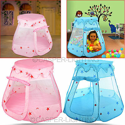 Kids Childrens Baby Fairy Tent Ball Fun Party Indoor Playhouse Pop Up Play House