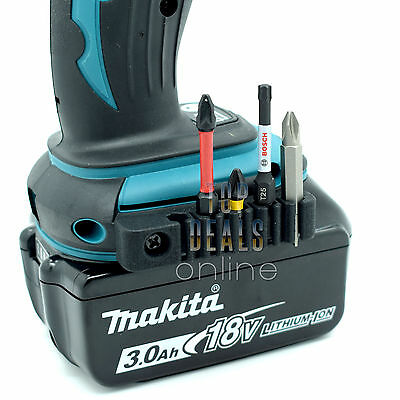 NEW 5 Bit Holder & Screw for Makita Cordless Drills & Impact Drivers DHP458