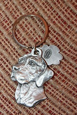 "German Shorthaired Pointer Keychain 2"" Dog Man's Best Friend NEW!"