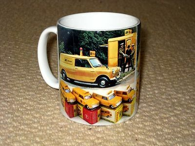 Dinky AA Morris Mini Van Advertising MUG