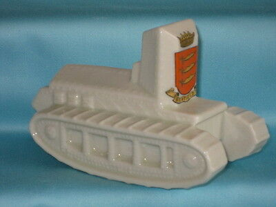 Grafton China WW1 'Whippet Tank' - ENFIELD crest