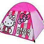 Hello kitty, small, pop up, dome ,tent,indoor, outdoor, pink,kids,TV, character