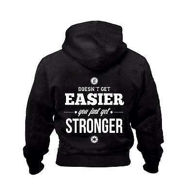 Gk  Bodybuilding Clothing Zip Hoodie T Shirt Workout Top Quote Top Quality