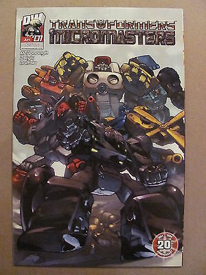 Transformers Micromasters #1 Dreamwave 2004 Series 9.4 Near Mint