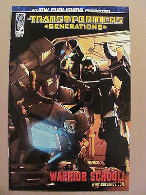 Transformers Generations #1 IDW 2006 Series reprint #7 from Marvel Series 9.4 NM