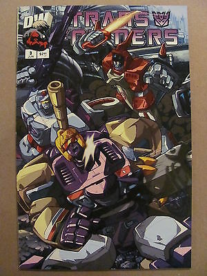 Transformers G1 #3 Dreamwave 2003 Series Cover B 9.4 Near Mint