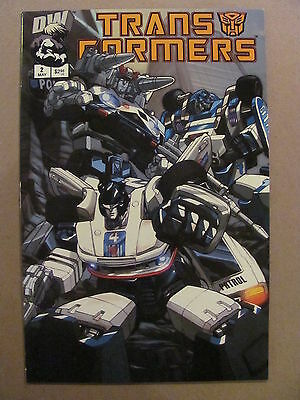 Transformers G1 #2 Dreamwave 2002 Series Cover A 9.4 Near Mint
