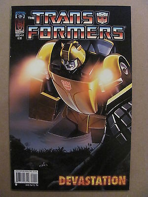 Transformers Devastation #1 IDW 2007 Series Cover A 9.4 Near Mint