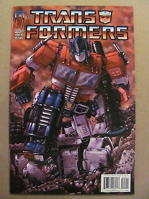 Transformers #0 IDW 2005 One Shot Cover C 9.4 Near Mint