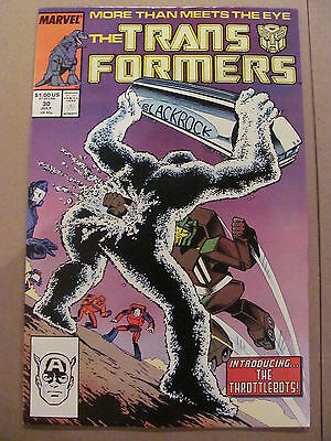 Transformers #30 Marvel Comics 1984 Series 9.2 Near MInt-