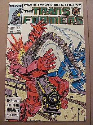 Transformers #35 Marvel Comics 1984 Series 9.2 Near MInt-