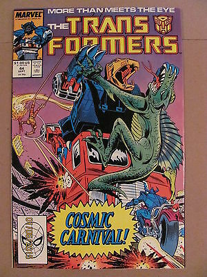 Transformers #44 Marvel Comics 1984 Series