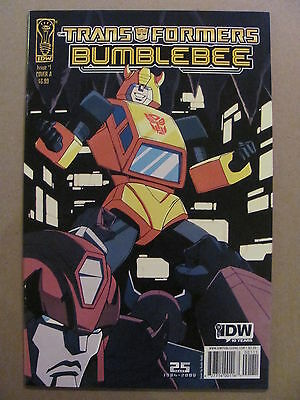 Transformers Bumblebee #1 IDW 2009 Series Cover A 9.4 Near Mint