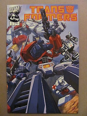 Transformers G1 #1 Dreamwave 2002 Series 1st Print Cover A 9.4 Near Mint