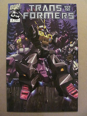 Transformers G1 #3 Dreamwave 2002 Series Cover B 9.4 Near Mint