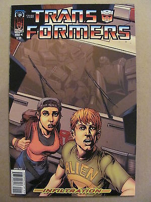 Transformers Infiltration #1 IDW 2006 Series Cover C 9.4 Near Mint
