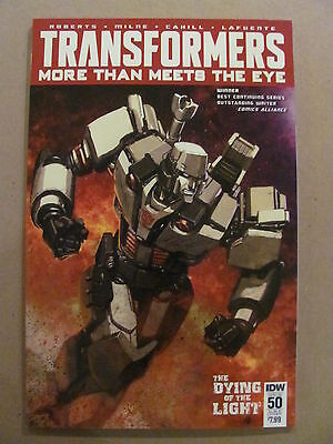 Transformers More Then Meets The Eye #50 IDW Sub Cover B Variant 9.6 Near Mint+