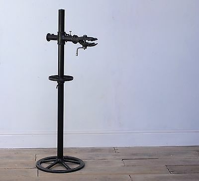 Antique cast iron Bicycle repair stand vintage workshop