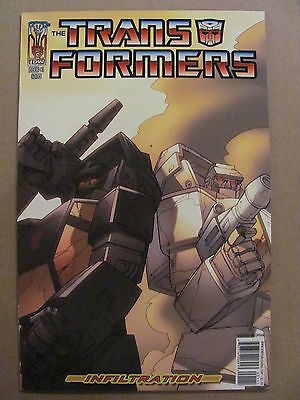 Transformers Infiltration #1 IDW 2006 Series Cover B 9.4 Near Mint