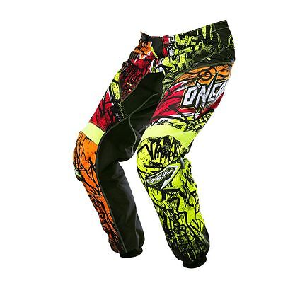 O'Neal Element Pants Vandal black neon 2017