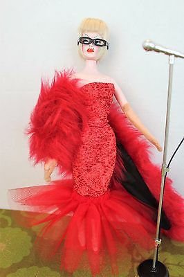 RETROS Tulle & Knit Fish Gown Set for Severine, Barbie 11-in. Fashion Dolls