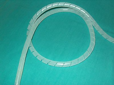 """Panduit T50F-C Spiral Cut Cable Wrap 1/2"""" Natural Sold By The Foot    ** New **"""