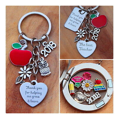 THANK YOU GIFT FOR TEACHER -Teaching assistant ,Nursery teacher Keyring ..//