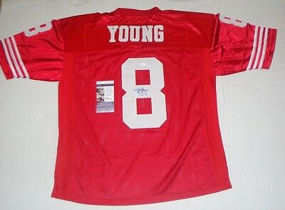 e72aa66b6 Steve Young signed San Francisco 49ers jersey Proof autographed HOF JSA 2