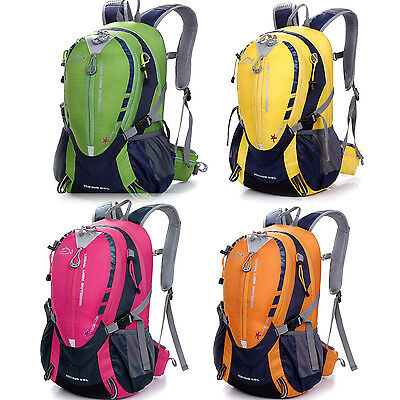 25L Outdoor Hiking&Campin Mountaineering Backpack Cycling Bike Waterproof Bag