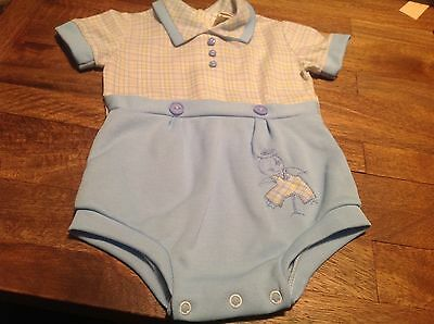 Vintage BABY BOY Outfit Size 12 Months