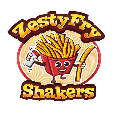 U.S.P.T.O. Trademark For Sale Zesty Fry French Fry Character Logo