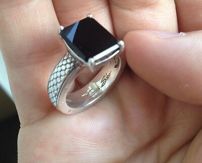Authentic Thomas Sabo Sterling Silver 925 Ring Women Accessories