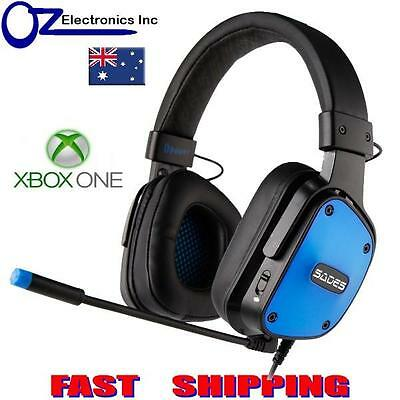 SADES DPOWER XBOX One Gaming Headset Mic Chat BRAND NEW Noise Reduction Mic