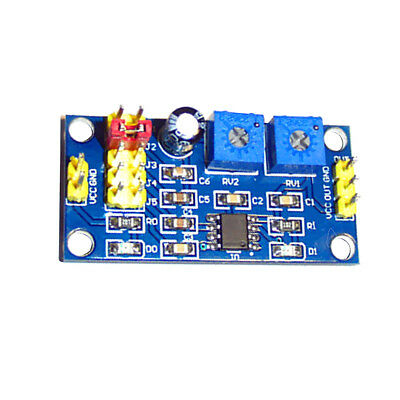 NE555 Square Wave Frequency Adjustable Duty Cycle Pulse Signal Generator