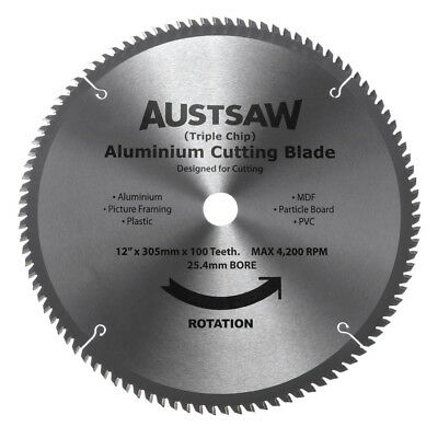 NEW Aluminium Cutting Blades (Triple Chip)