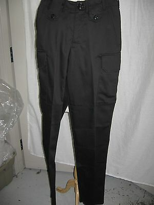 NEW Black cargo / BDU style pant w 28 and w 30
