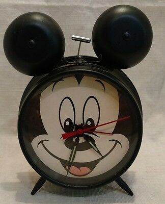 Retro-style Mickey Mouse Alarm Clock
