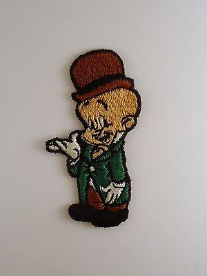 "Vintage 3 1/4"" Elmer Fudd embroidered patch WARNER BROS  Looney Tunes"