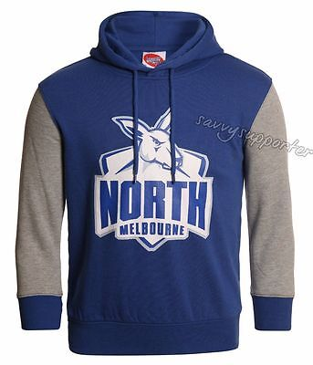 North Melbourne Kangaroos 2017 AFL Kids Youth Logo Hoody Sizes 6-14 BNWT