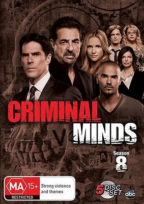 Criminal Minds Season 8 BRAND NEW SEALED R4 DVD
