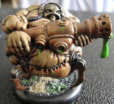 Warmachine Cryx Solo Bloat Thrall metal fully painted OOP
