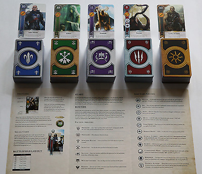 GWENT CARDS 400 CARDS (5 DECKS FULL SET) Witcher 3 Wild Hunt (ENG EDITION)