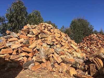Redgum And Yellowbox Firewood For Sale - Split, Delivered And Stacked
