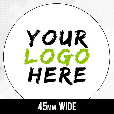 LOGO Printed Round Stickers - Custom 4.5cm labels - 45mm labels Personalised