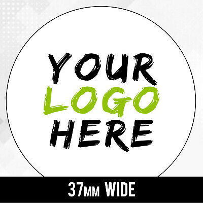 customised printed ROUND labels - LOGO - circle white labels - quality stickers