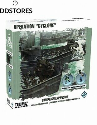 Dust Tactics Operation Cyclone Campaign Expansion